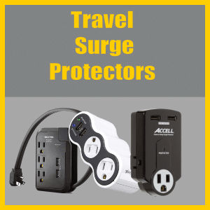 Surge Protector for Travel
